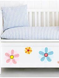 Floral/Botânico Adesivos de Parede Autocolantes de Aviões para Parede Autocolantes de Frigorífico Material Decoração para casa Decalque