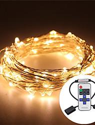 10m водоустойчивый 5v usb водить светлый шнур серебра медь вел свет шнурка кактус рождественский свадьбу&дистанционное управление