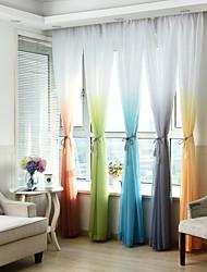 Ventana Tratamiento A Rayas Geométrico Varios Colores Dormitorio Material Sheer Cortinas Cortinas Decoración hogareña For Ventana