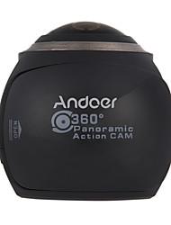 Caméra panoramique Haute Définition WiFi Imperméable Facile à transporter Grand angle 4K