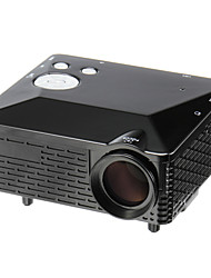 LP-6B LCD SVGA (800x600) Projector,LED 500LM Mini Projector