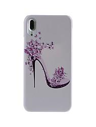 Назначение iPhone X iPhone 8 iPhone 8 Plus Чехлы панели Стразы С узором Задняя крышка Кейс для Соблазнительная девушка Твердый PC для