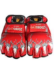 Boxing Training Gloves for Boxing Fingerless Gloves Protective Durable Leather 1
