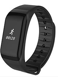 contrôle du rythme cardiaque bande intelligente f1 pression sanguine du smartband avec bracelet podomètre