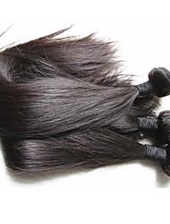 qualité supérieure, cheveux vierges brés, soie, droit 3bundles 300g, lot pour une tête, meilleur produit pour les cheveux faits de couleur