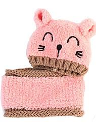 Девочки Шарф, шапка и перчатки в комплекте,Все сезоны