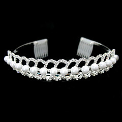 Gorgeous Alloy With Clear Crystal Wedding Headpiece/ Bridal Tiaras