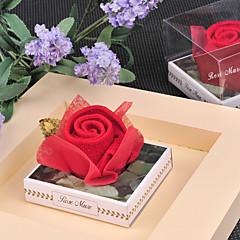 nevěsta družičky pár Dárky Piece / Set milenci Svatba 100% bavlna Červená Dárková krabička