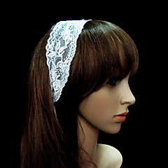 Women's Lace Headpiece-Special Occasion / Casual / Office & Career / Outdoor Headbands Clear Round