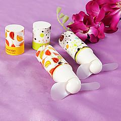 Kunststoff Ventilatoren und Sonnenschirme Stück / Set Handfächer Blumen Thema Klassisches Thema Weiß 3cm×3cm× 10cm 3cm×3cm× 10cm
