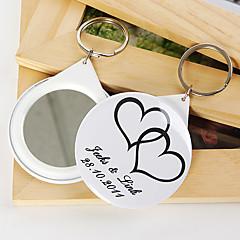 Personalized Mirror Key Ring - Telesthesia (set of 12)