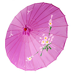 Purple Silk Parasol