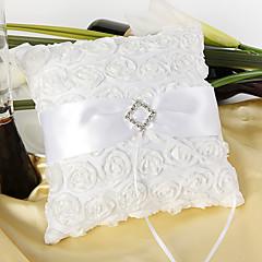 rose ring pute med hvit karm
