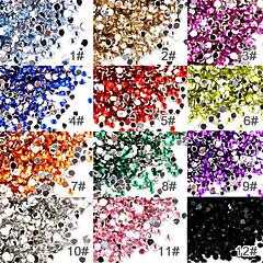 50 Nail Art Kunstdiamantjes 2mm Per Stuk