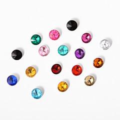 1 quilates confetti cristal acrílico - colores surtidos (. 1000 ct) boda del pavo real