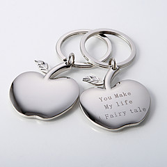Personalized Apple of My Eye Key Ring (Set of 4)