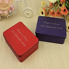 12 Piece/Set Favor Holder-Cuboid Tins Favor Boxes Favor Tins and Pails Personalized