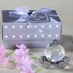 שושבינה נערת פרחים נושא טבעת מתנות חתיכה / סט פריטי קריסטל זוהר קלסי מודרני חתונה יום שנה יומהולדת קריסטל פריטי קריסטל קופסאת מתנה