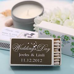 Papel Cartão Decorações do casamento-12Piece / Set Personalizado Fósforos não inclusos.