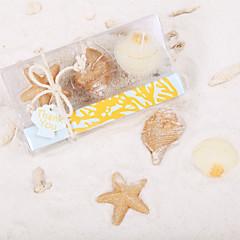 해변 해변 캔들 선물 (3 세트)