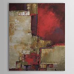 Handgeschilderde AbstractModern Eén paneel Canvas Hang-geschilderd olieverfschilderij For Huisdecoratie