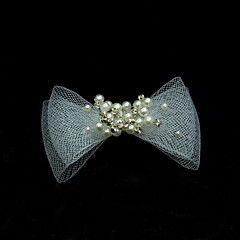 Women's Pearl / Tulle Headpiece-Wedding / Special Occasion / Casual Hair Pin