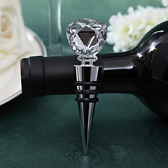 Crystal Tulip Bottle Stopper