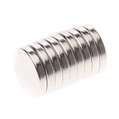 Magnet Toys 10Pcs 12x2mm Magnet Toys / Super Strong Rare-Earth Magnets / Neodymium Magnet Executive Toys Puzzle Cube DIY ToysMagnetic