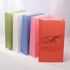 4 Peça/Conjunto Titular Favor-Cubóide Bolsas de Ofertas Personalizado