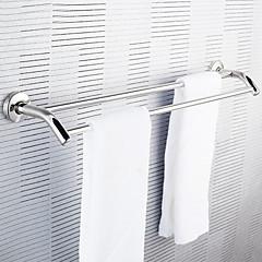 Rustfrit stål Dobbelt håndklædeholder Håndklæde Rod Pendant Håndklæde Bar