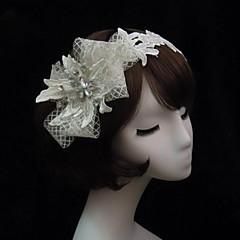 Women's Lace / Rhinestone / Net Headpiece-Special Occasion Headbands
