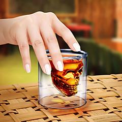 kristallen schedel borrelglas cocktail bierkop