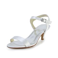 Women's Wedding Shoes Heels Sandals Wedding Red/Ivory/White