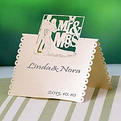 Pearl Paper Place Cards 12 Poly Bag