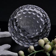 מזכרת גביש גולף מותאם אישית מתנת שושבינה מתנות