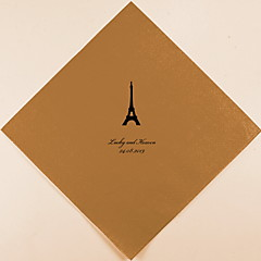 Personalized Wedding Napkins Paris(More Colors)-Set of 100