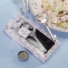 "Stainless Steel / Cork Bottle Favor-1Piece/Set Bottle Openers Garden Theme Non-personalised Silver 4 3/4"" x 1 1/4"" x 1 3/4"" (12x3x4cm)"