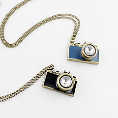 Fashion Camera Style Zinc Alloy With Rhinestone Necklace (More Colors)