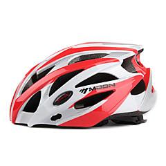 MOON Women's / Men's Mountain / Road / Half Shell Bike helmet 25 Vents Cycling Cycling / Mountain Cycling / Road Cycling PC / EPSRed /