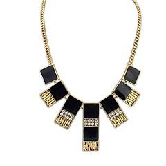 ヨーロッパスタイルのファッションパンクレトロ平方ネックレス(もっと色)