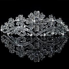 Vrouwen Licht Metaal Helm-Bruiloft / Speciale gelegenheden Tiara's Helder Rond