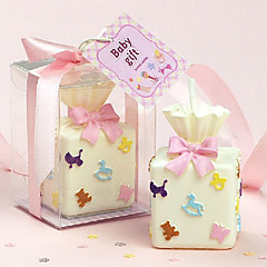 Gift Box Shaped Candle (More Colors)