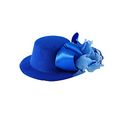 Women's / Flower Girl's Satin / Silk Headpiece-Wedding / Special Occasion / Casual Flowers