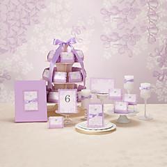 """לא מותאם אישית הזמנות ומעטפות הזמנות לחתונה כרטיסי הזמנה-111 Piece / סט סגנון פרחוני אמנות נייר 7 1/5""""×5"""" (18.4*12.8ס""""מ) קשתות"""