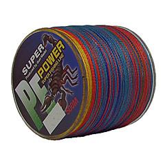 500M / 550 Yards PE Braided Line / Dyneema / Superline Fishing Line Assorted Colors 50LB / 45LB / 60LB 0.3;0.32;0.37 mm ForSea Fishing /