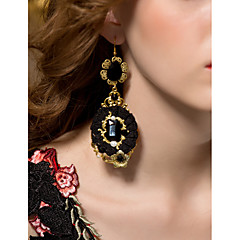 Gorgeous Alloy with Resin and Imitation Pearl Women's Earrings