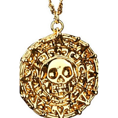 Muškarci Ogrlice s privjeskom Legura Skull shape Bronza Zlatan Jewelry Party Dnevno Kauzalni Božićni pokloni