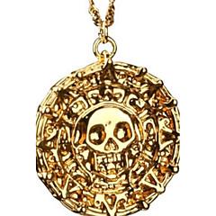 Herrn Anhängerketten Aleación Totenkopfform Bronze Golden Schmuck Party Alltag Normal Weihnachts Geschenke