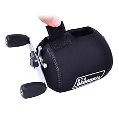 Trulinoya-Portable schwarz Fishing Reel Bag