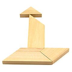 Dřevěné T Puzzle Hlavolam IQ hračky